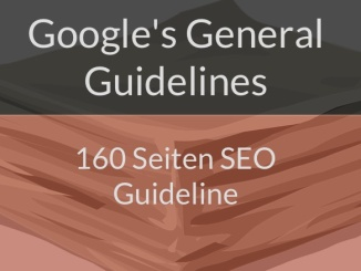 Googles General Guidelines