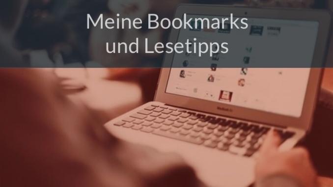 Meine Bookmark und Lesetipps