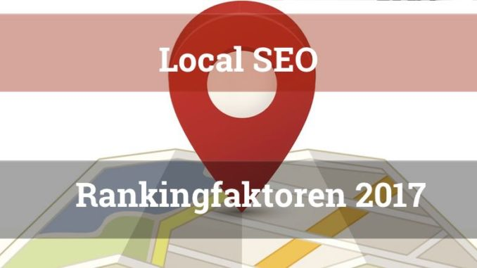 local SEO Rankingfaktoren