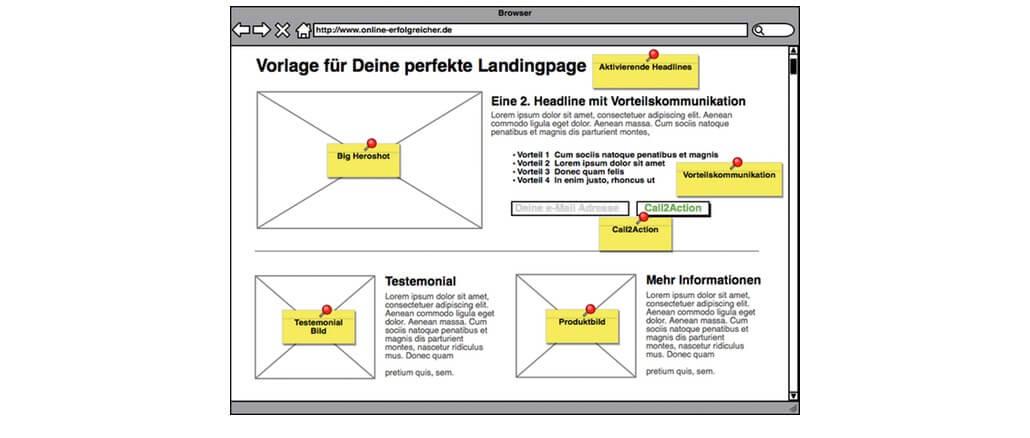 Scribble-Landingpage