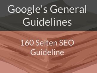 Googles General Guidelines