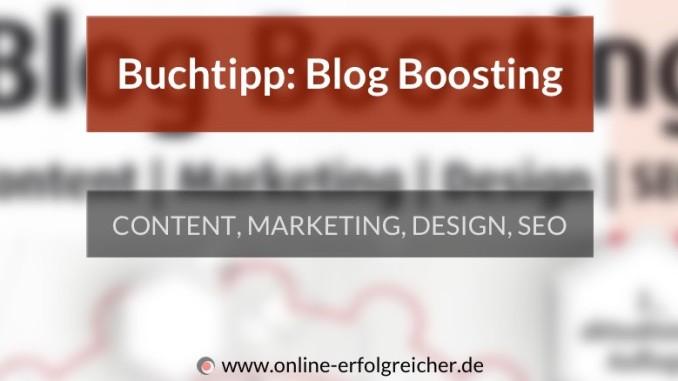 Blog Boosting Buchtipp