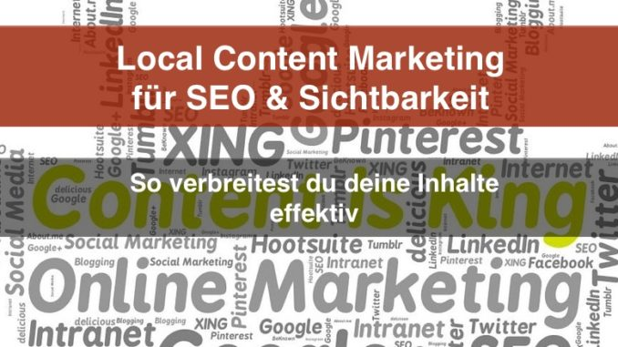 Local Content Marketing