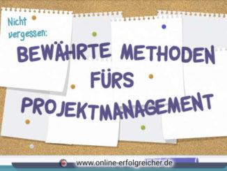 Methoden Projektmanagement