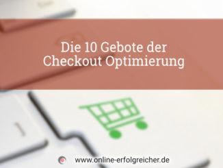 Checkout Prozess Optimierung