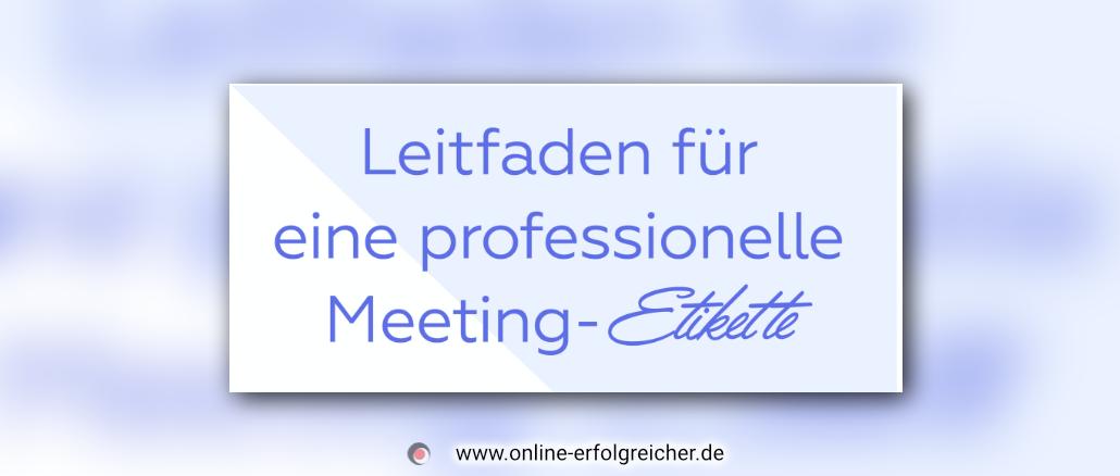 leitfaden-meeting-etikette